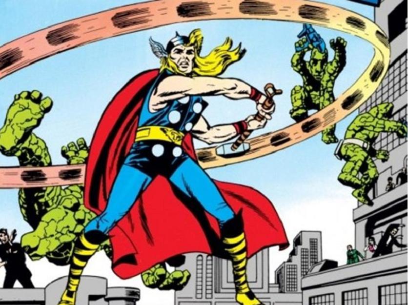 A Look Back at Classic Marvel Superhero Men's Costumes