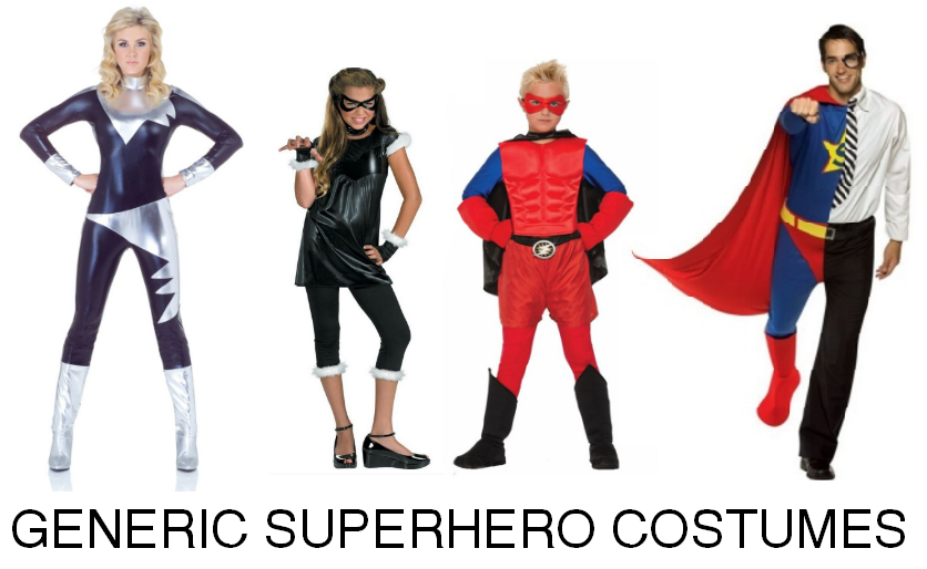 Generic superhero costumes for halloween why not solutioingenieria Choice Image
