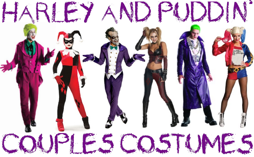 Harley-Quinn-and-Joker-Couples-Costumes  sc 1 st  Halloween Costumes & Creative Couples Costumes: Ideas for Halloween