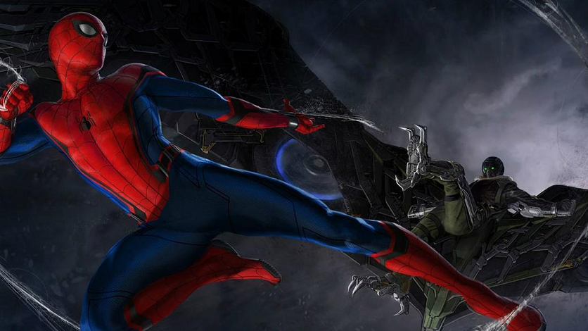 & Spider-Man: Homecoming Vulture Costume Concept Art Released