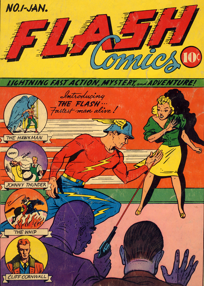 First ever flash comic book