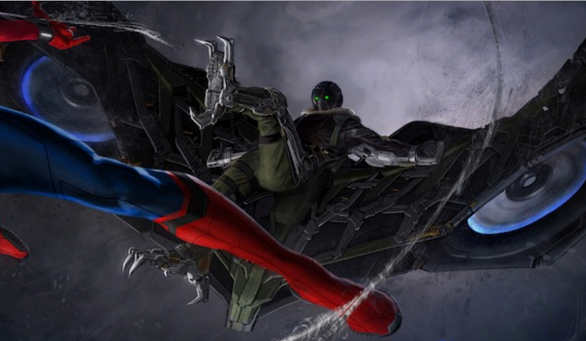 Spider-Man: Homecoming Vulture Costume Concept Art Released