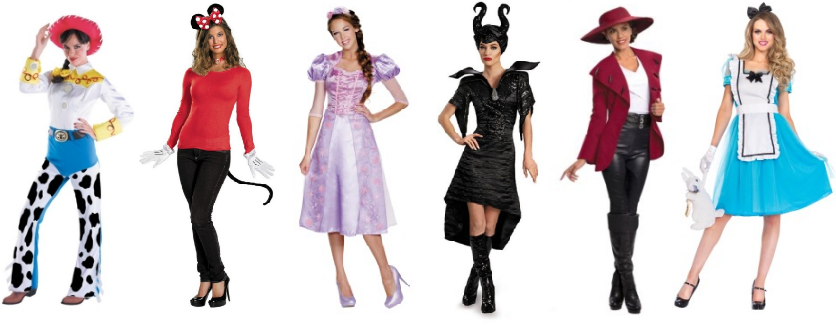 womens disney halloween party costumes