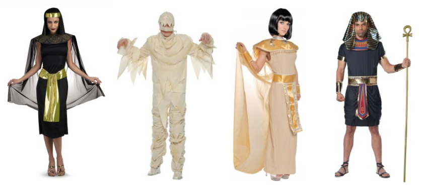 Ancient Egyptian Costumes Pharaoh And Queens