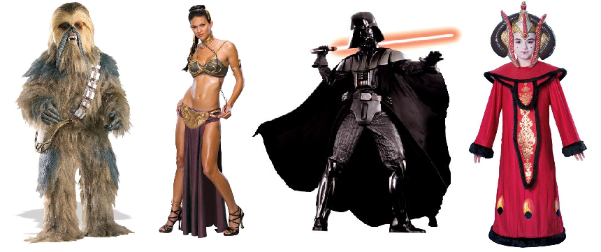 Theatrical Star Wars Costumes