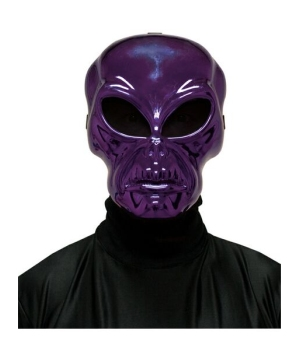 Purple Alien Adult Mask