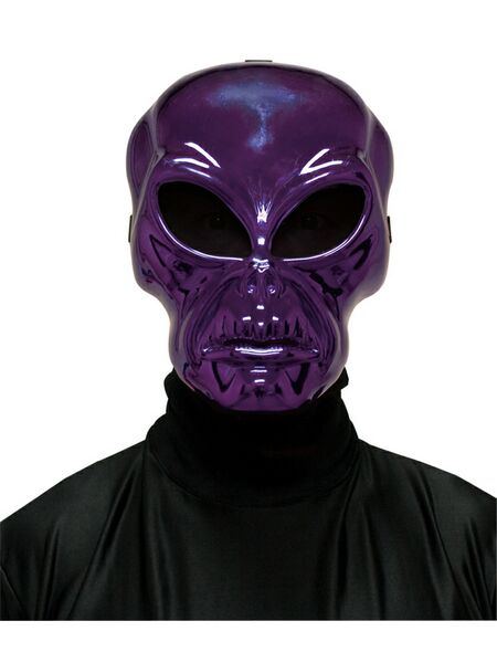 Purple Alien  Mask