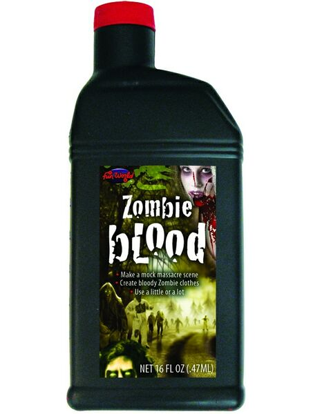 Zombie Liquid Blood Makeup