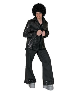 Disco Tux Jacket - Adult Jacket - Black