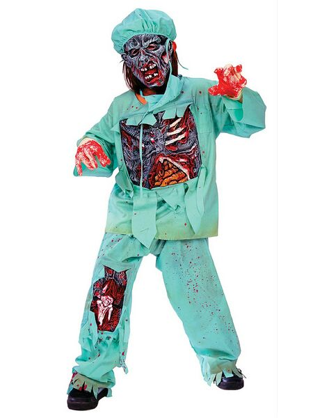 Zombie Doctor Boys Costume