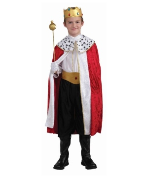 Regal King Boys Costume