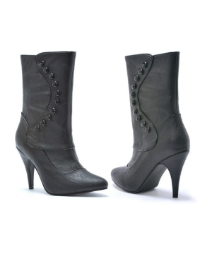 Ruth Victorian Boots Adult Black Boots