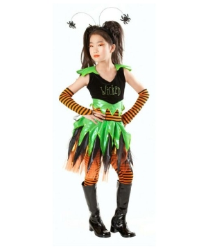 Wicked Witch Girls Costume