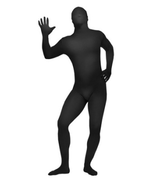 Black Skin Suit Teen Costume