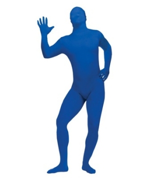 Blue Skin Suit Teen Costume