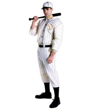 Old Tyme Baseball Player Men Costume