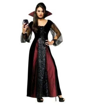 Goth Maiden Vampiress Women Costume