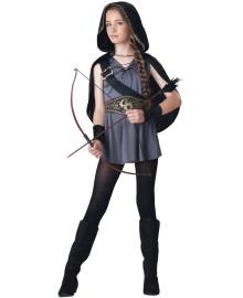 Hooded Huntress Kids Costume