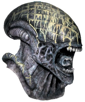 Alien Adult Mask deluxe