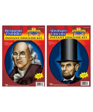 Benjamin Franklin and Abraham Lincoln Costume Kits