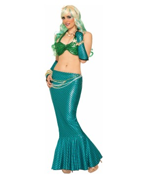 Blue Mermaid Women Tail