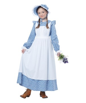 Charming Pioneer Girl Dress Costume