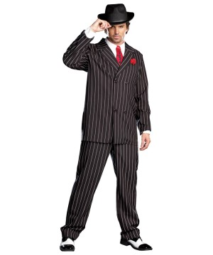 Classic Mobster Gangsta Men Costume