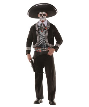 Day of the Dead Bandit Mens Costume