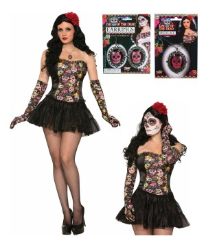 Day of the Dead Senorita Costume Kit
