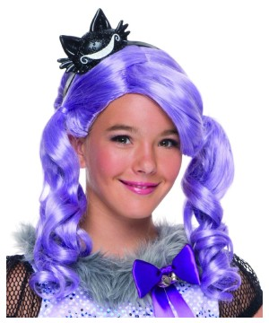 Ever After Kitty Cheshire Girls Wig