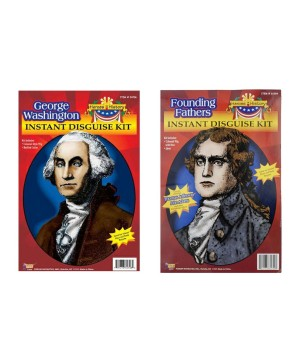 George Washington and Thomas Jefferson Costume Kit