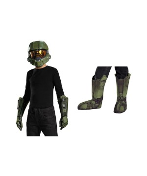 Halo Master Chief Boys Accessory Kit