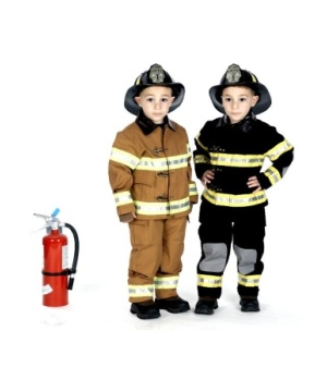 Fire Fighter Kids Costume