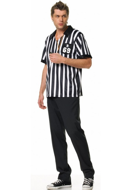 Referee Man Men Costume  sc 1 st  Wonder Costumes & Referee Man Adult Costume - Women Sports Costumes