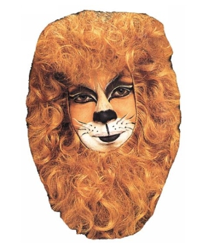 Lion Face Hair Piece