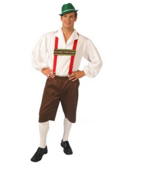 Lederhosen Costume Adult