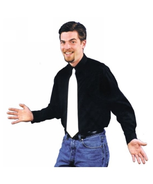 Black Gangster Shirt Costume - Adult Costume