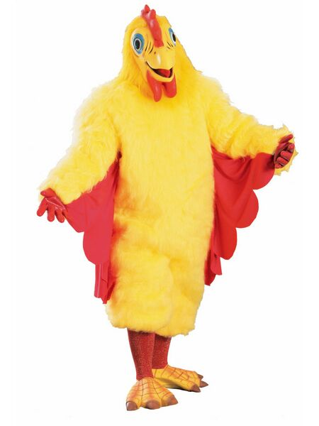 Comical Chicken  Costume