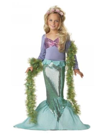 Little Mermaid Kids Costume