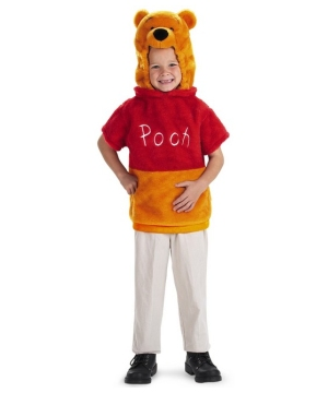Winnie the Pooh Vest Toddler Boys Costume