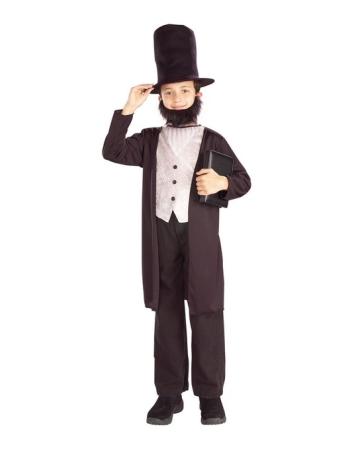 Abe Lincoln Boys Costume