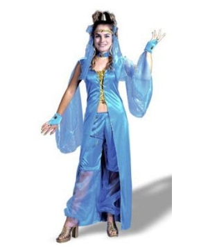 Dreamy Genie Womens Costume Plus Size  sc 1 st  Wonder Costumes & Genie Dreamy Adult Plus Size Costume - Women Genie Costumes