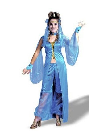 sc 1 st  Halloween Costumes & Genie Dreamy Adult Plus Size Costume - Women Genie Costumes