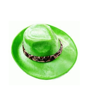 Lime Green Pimp Adult Hat