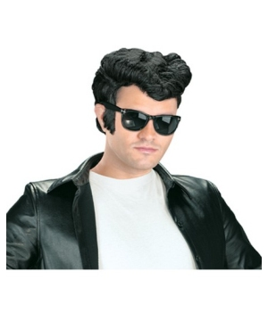 Black Greaser Men Wig