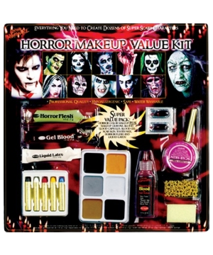 Family Horror Makeup Kit