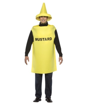 Mustard Men Costume  sc 1 st  Wonder Costumes & Pizza Costume - Pizza Time Costumes for Halloween