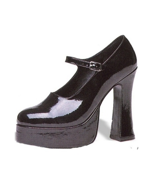 Platform Mary Jane Black - Woman Shoes