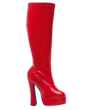 Red Chacha Boot Adult Shoes