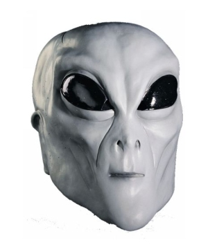Grey Alien Adult Mask